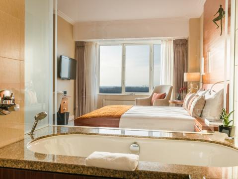 Superior city view room double or twin