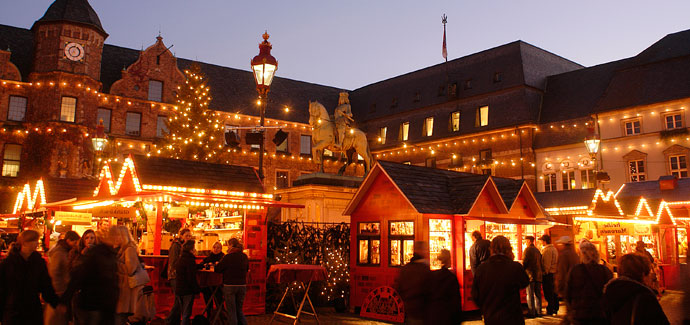Kerstmarkten Düsseldorf