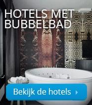 Hotels met bubbelbad