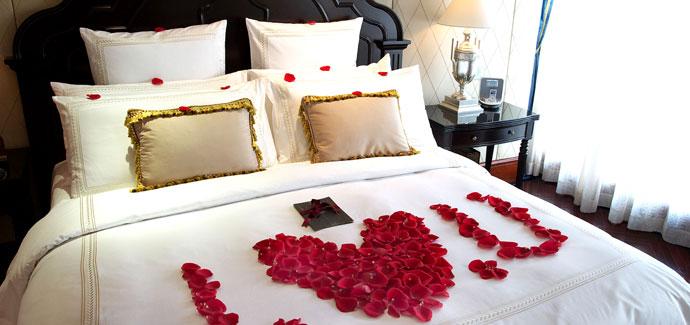 Romantische hotels hotel aanbiedingen bij hotel specials - Romantische kamers ...