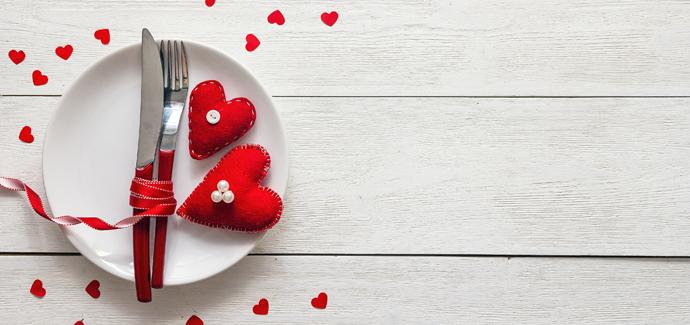 Romantische Valentijn arrangementen