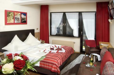Tweepersoonskamer met balkon (halfpension)