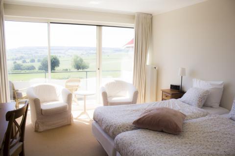 Country kamer met balkon (incl. ontbijt)