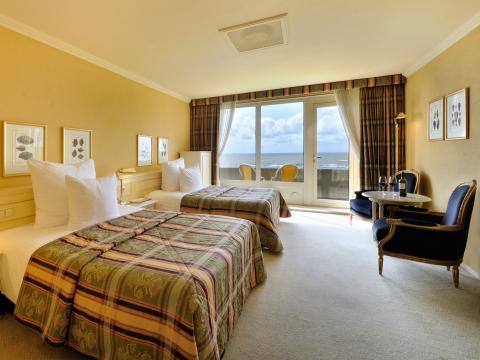 Deluxe kamer large zeezijde