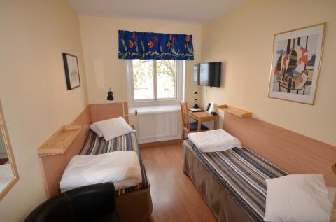 Tweepersoonskamer Hostel